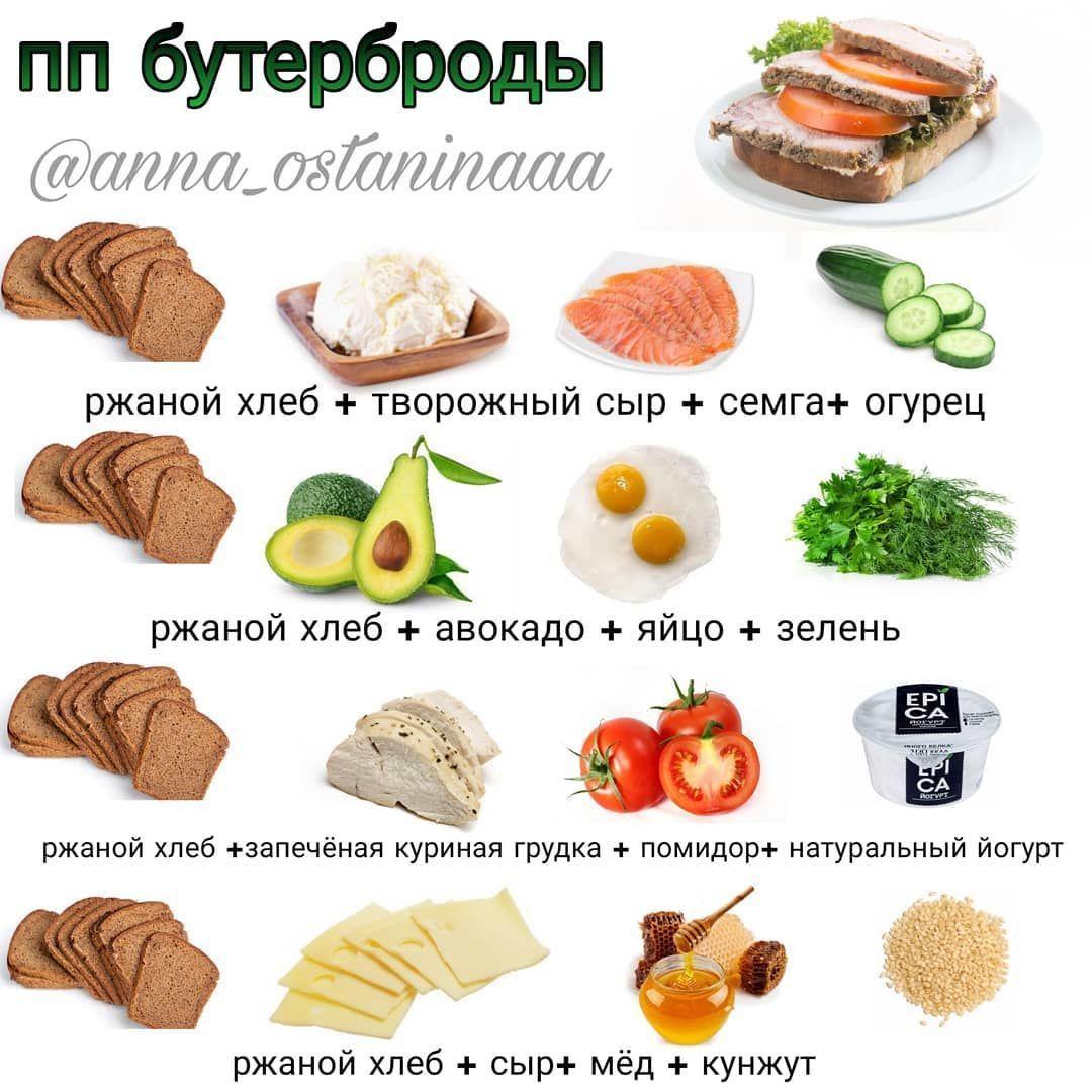 Подборка перекусов и закусок