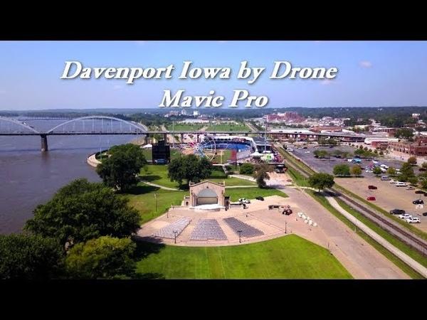 Davenport Iowa Mississippi river Quad City Super Mix Master Cinematic