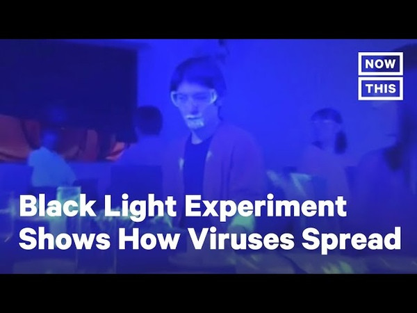 Black Light Experiment Shows How Quickly COVID 19 Can Spread NowThis