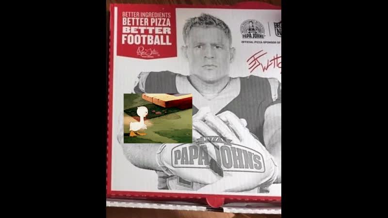Better Ingredients Better Pizza Better Football Papa Jonhs Ugly Duckling