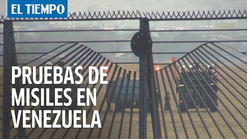 Maduro ordena pruebas de misiles en aguas de Venezuela a la espera de buques de Irán