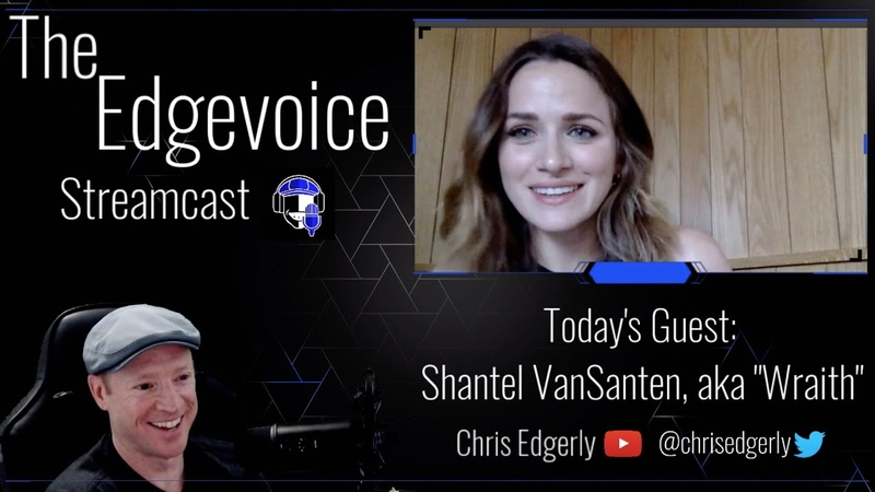 CHRIS EDGERLY VOICE OF PATHFINDER Interviews Shantel VanSanten Voice of Wraith