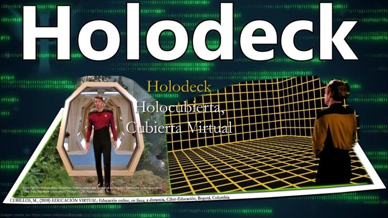 Tendencias futuras de hoy… Holodeck