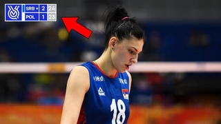 This is Why Tijana Boskovic is the Best Volleyball Player in The World | 5 Points in a Row (HD)