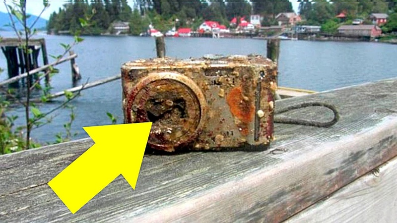 Фото с Затонувшей в Бермудском Треугольнике Камеры Поражают Воображение