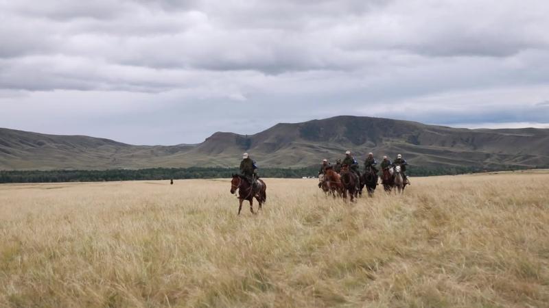 «Конный марафон-2020»: второй день 130-километрового конного марша
