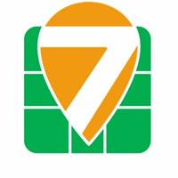 Логотип 7 МИЛЯ походы, сплавы Ижевск
