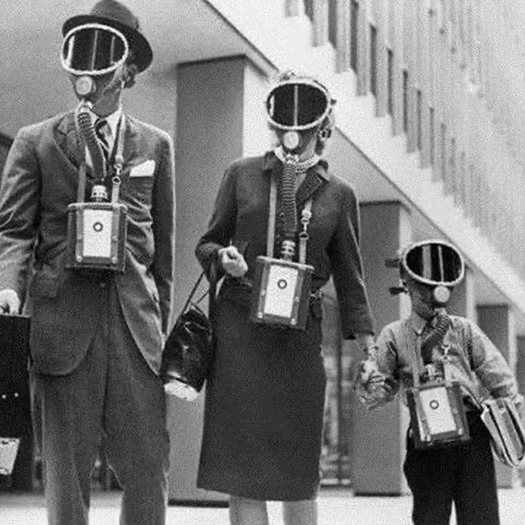 Эпидемиологическая мода. Так защищались от «испанки» в