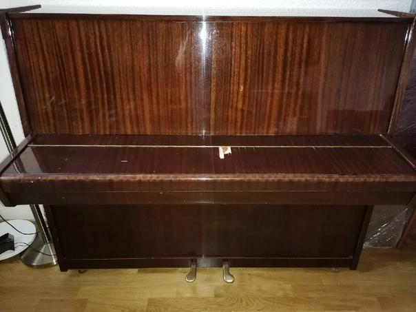 Здравствуйте! Отдам даром пианино Красный Октябрь. Академ...