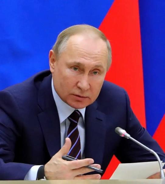 🦠 Путин заявил, что в его окружении заболели ковид...