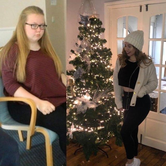 Англичанка Тори Уайт весила 108 килограмм, но она смогла превратиться в настоящую красавицу благодаря тренировкам и питанию