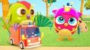 Совенок Хоп хоп - Пожарная машина. Развивающие мультики - сборник для малышей @Совенок Хопхоп