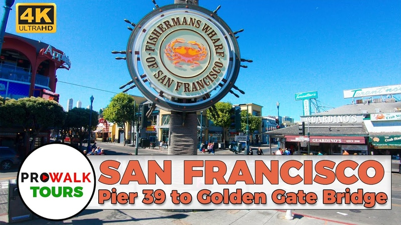 San Francisco Bay Trail Walking Tour = Pier 39 to the Golden Gate Bridge