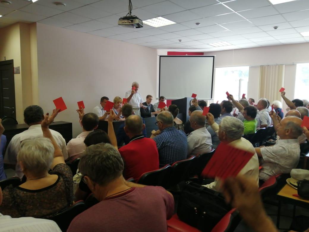 КПРФ первой выдвинула кандидатов в городской Совет