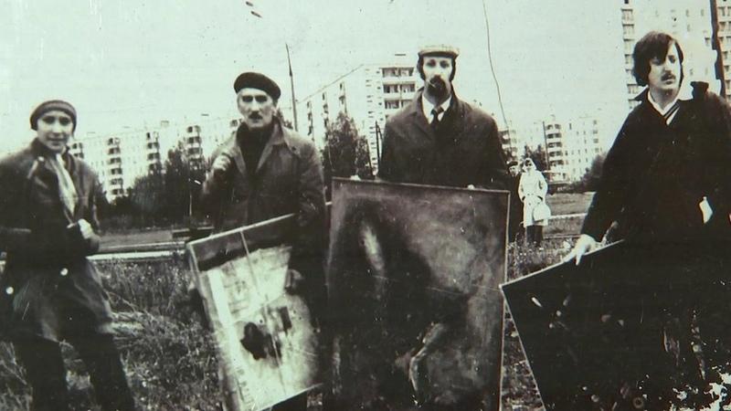Вэти дни вспоминают знаменитую Бульдозерную выставку которая изменила искусство вСССР Новости Первый канал