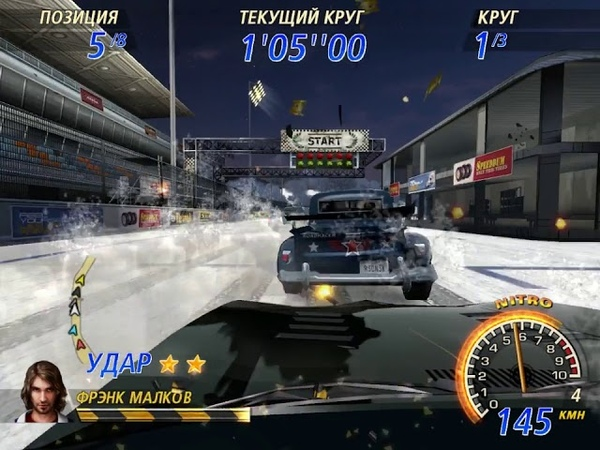 FlatOut 2 Winter Pursuit 25 Special Street Circuits Cup 3 Riverbay Circuit 2