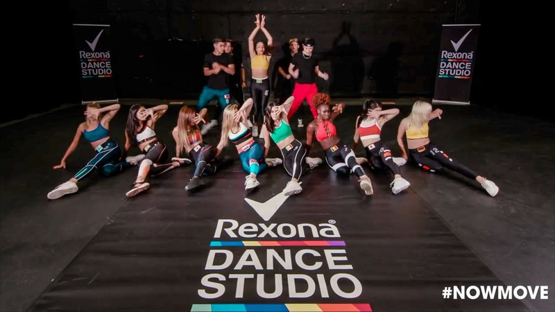 Paraná Group Tutorial x Rexona Dance Studio - Now United