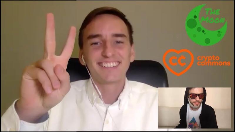 Интервью с Карлом с луны the MOON говорим про Биткоин Ethereum DeFi трейдинг биржи и тд 👽🚀🌖