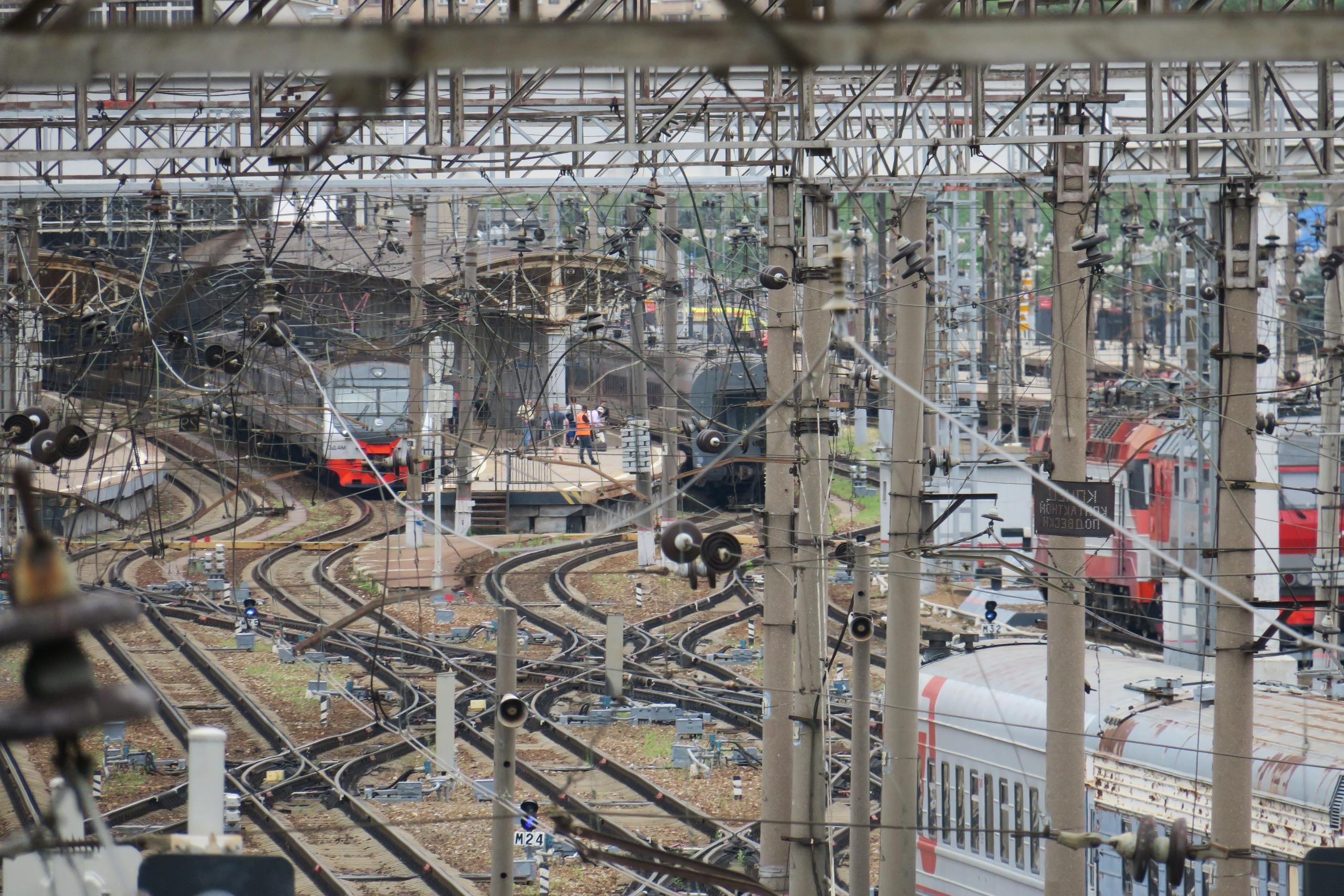 Студенческая, вид на Киевский вокзал