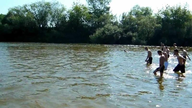 Тренировка на реке Тёша