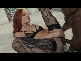 Lacy Lennon Her Dark Chocolate Creampie in 4K BBC Redhead Interracial Sex porn chocolate DARK BLACKED секс негр и рыжая сучка se