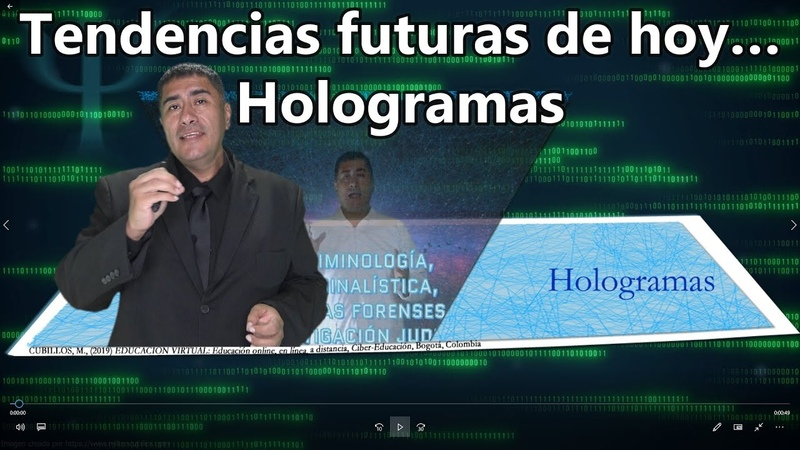 Tendencias futuras de hoy… Holograma