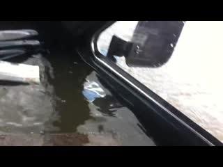 Плавающая Нива 2121 или не зная броду не суйся в воду) Река Белая