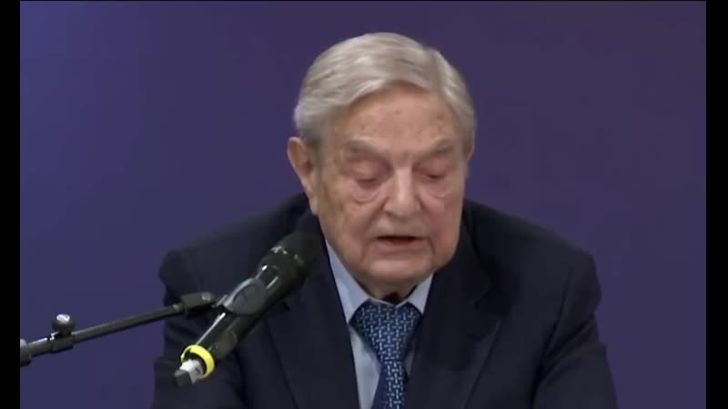 """Trump will disappear in 2020 or even sooner """" @georgesoros Wake up up England"""