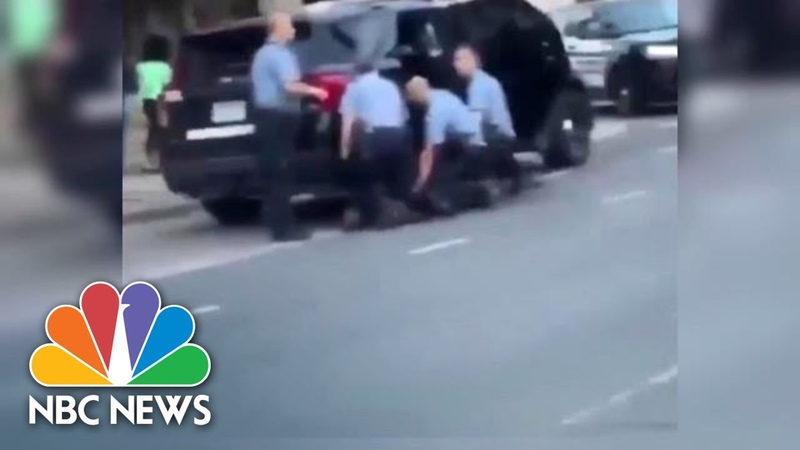 Video Shows New Angle Of George Floyd's Arrest With Multiple Officers NBC News NOW