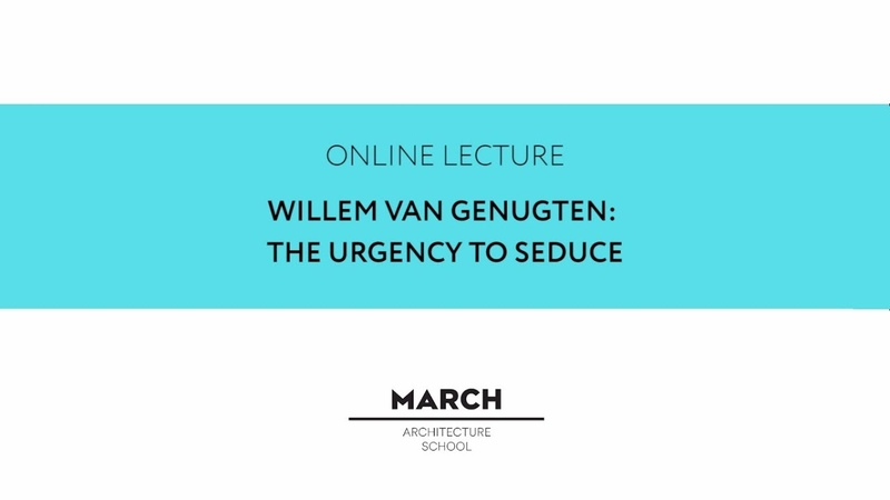 Willem van Genugten: The urgency to seduce