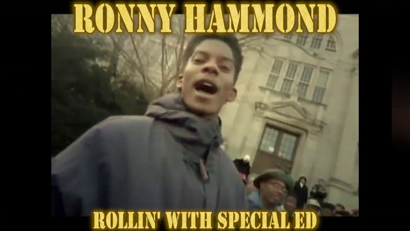 Ronny Hammond Rollin' With Special Ed Don't Know What It Is But It Sure Is Funky Video Edit