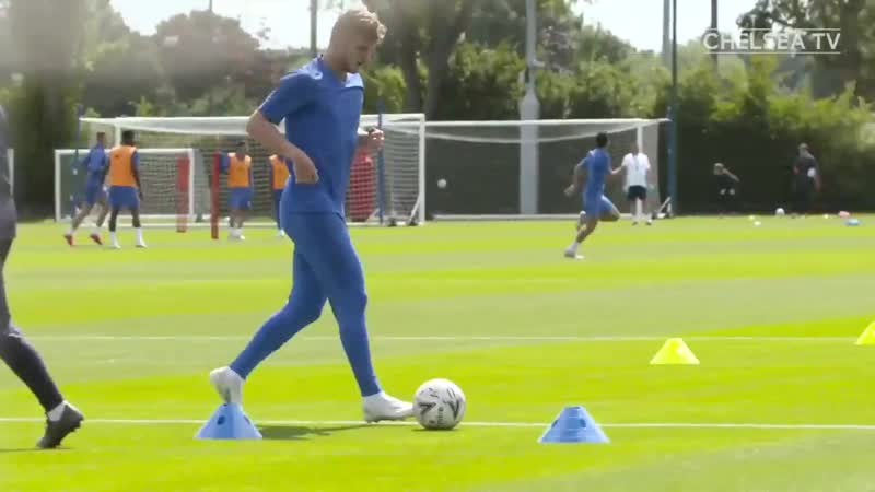 It's been a week since Timo Werner joined in full training with Chelsea