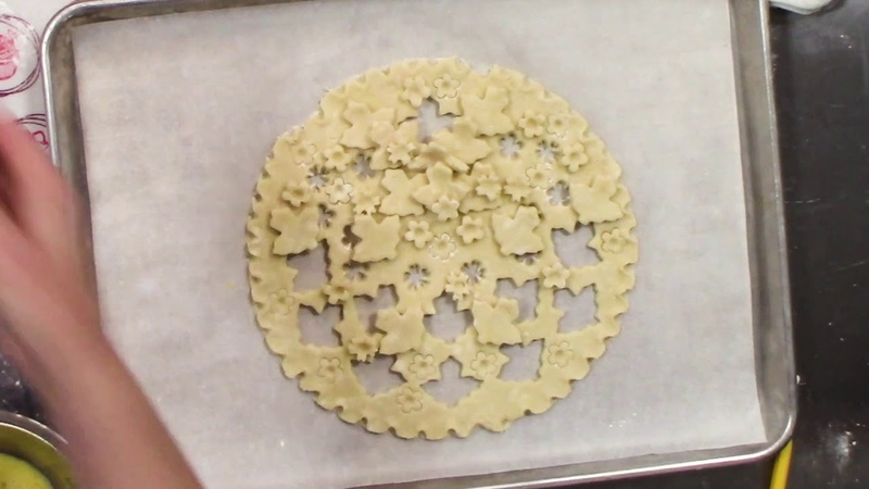 Beautiful pie crust design from 'Elegant Pie' by Karin Pfeiff Boschek