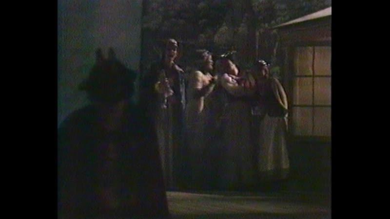 Стокгольмская опера Свадьба Фигаро Act IV