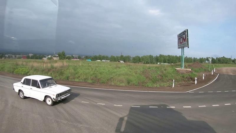 $465 Scania S500 В Хакасию через Дивногорск Красноярские огни