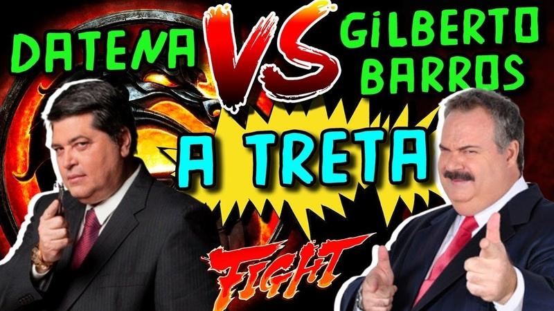 A treta entre José Luiz Datena e Gilberto Barros o Leão - Grandes Momentos do Brasil
