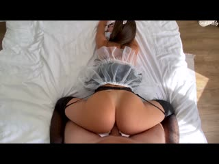 DickForLily  Young Maid Cheats On Her Husband With A Hotel Client For A Good Review