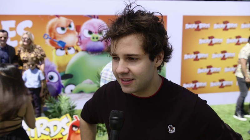 Angry Birds Movie 2 An Interview with David Dobrik as Axel
