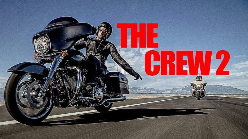 The Crew 2 На Харлее От Первого Лица Из Лас Вегаса в Йосемити Геймплей