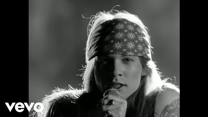 Guns N' Roses Sweet Child O' Mine Official Music Video