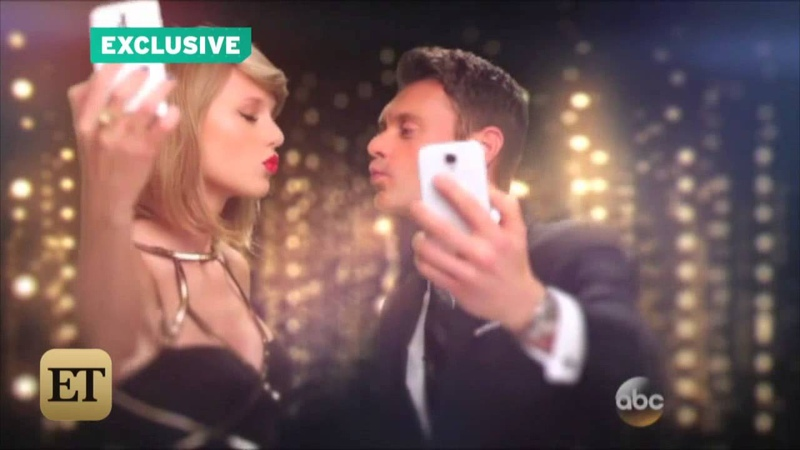 EXCLUSIVE Taylor Swift and Ryan Seacrest Kiss in New Year's Eve Promo