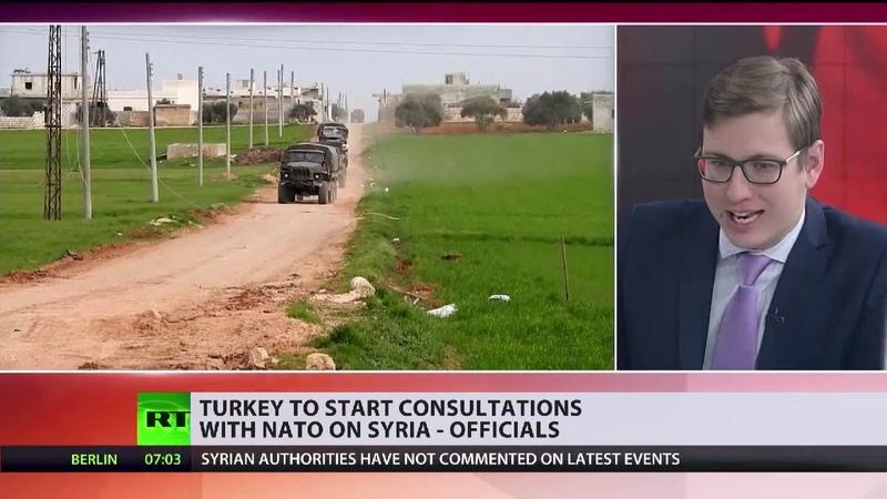 Eskalation in Idlib Türkei will sich an NATO wenden