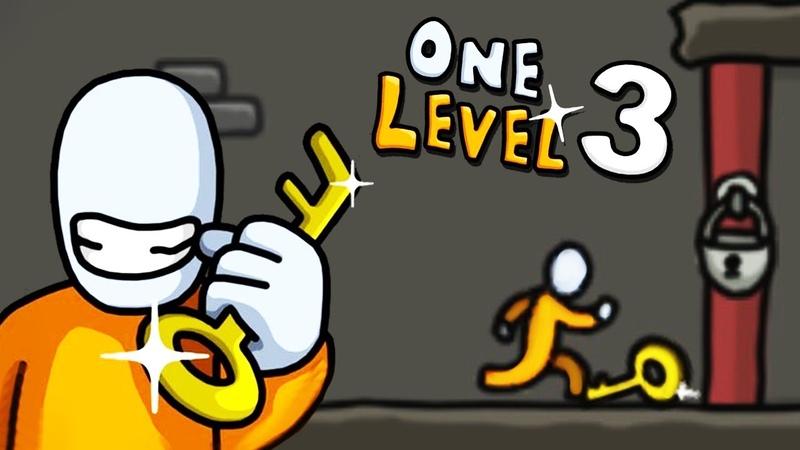 ПОБЕГ СТИКМАНА из ТЮРЬМЫ КАК СБЕЖАТЬ из ЭТОЙ ТЮРЬМЫ One Level 3 Stickman Jailbreak