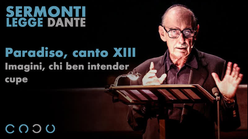 80 Paradiso canto XIII Imagini chi ben intender cupe