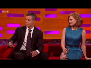 The Graham Norton Show S18E1- Matt Damon, Jessica Chastain, Bill Bailey and The Weeknd