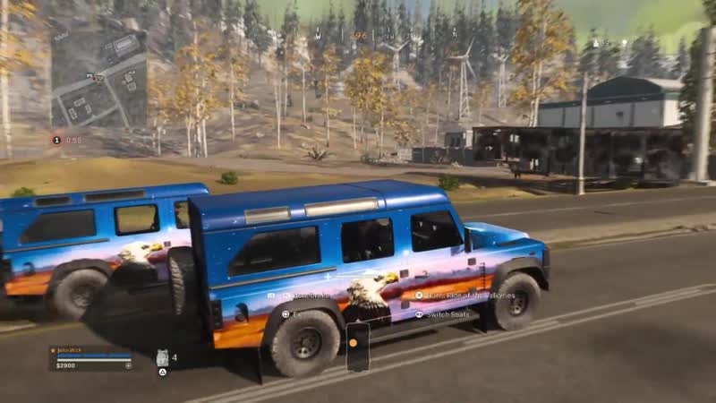 Call of Duty Racing. Warzone