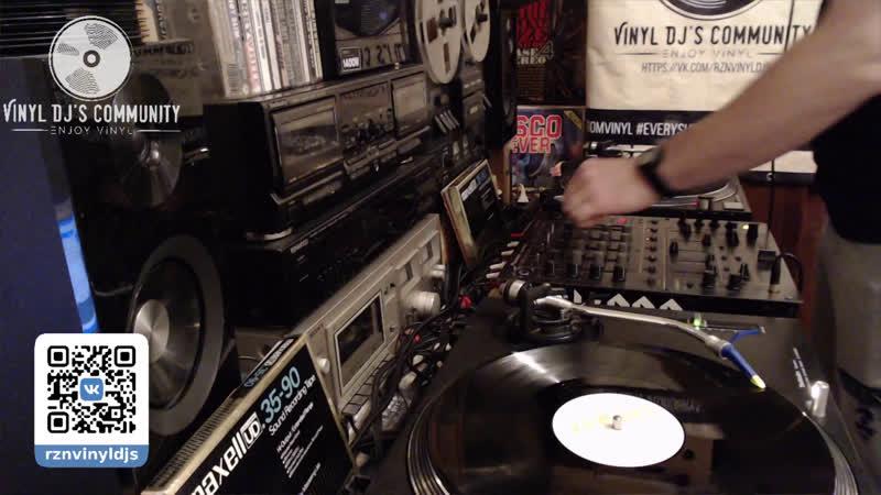 DJ YURA ONEGIN HELLO SPRING VINYL LIVE MIX 1 03 2020