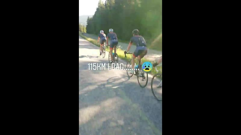 Велотренировка в Лиллехаммере 19 06 2020