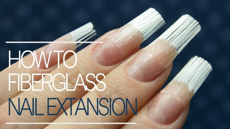 How To Do Fiberglass Nails Gel Nail Extension Tutorial Step by Step