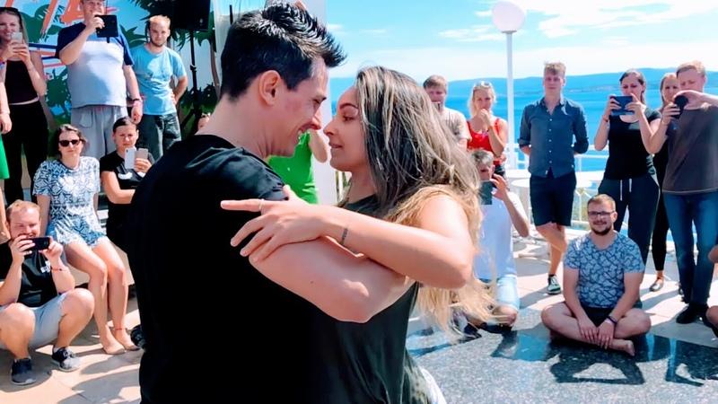Daddy Yankee Snow Con Calma Dance Rick Torri Larissa Secco Brazilian Zouk Dance ZoukTime